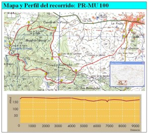 Mapa pr100